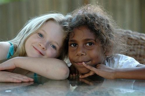 white black kids